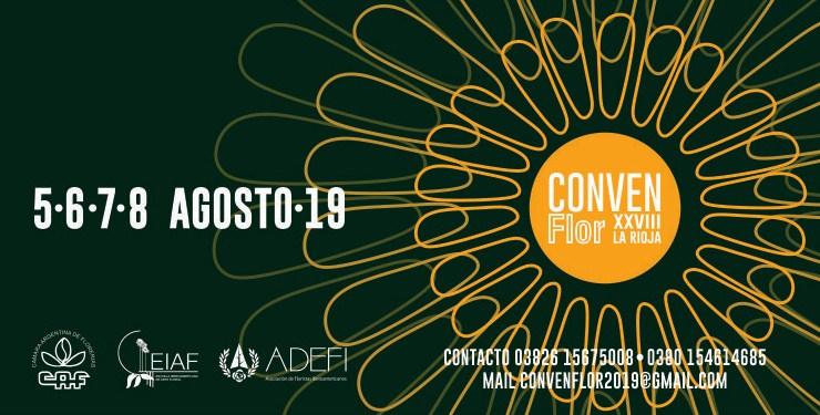 XXVIII CONVENFLOR 2019 - La Rioja, Argentina  Copia